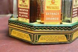 A Rare 12 Bottle Watkins Cruet