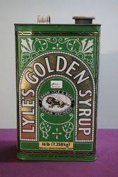 Abram Lyle & Sons Lyle's Golden Syrup 16lb  Tin