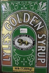 Abram Lyle and Sons Lyleand39s Golden Syrup 16lb  Tin