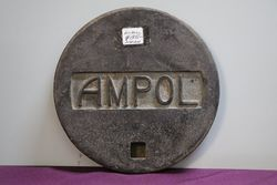 Ampol Cast Tank Cover