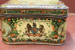 Antique Huntley And Palmers Biscuit Tin