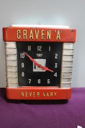 "Art Deco Craven""A Plastic Smiths Electric Wall Clock. #"