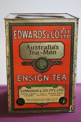 Australian Edwards English Tea 14 Lbs Tin