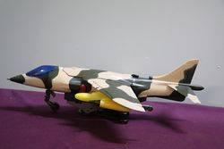 Battery Operated Artform Harrier GR. MK. 1 Bomber Jet #