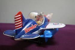 Battery Operated Bomber Pilot Aeroplane