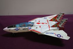 MIB Made In Japan Nomura Multi-Action Jet Fighter F-14A Tomcat Battery Operated