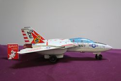 Battery Operated F 14A Navy Jet Fighter Made In Japan