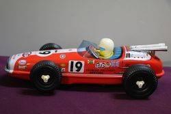 Misuari, Japan Battery-operated Tinplate Lotus Hi-Speed racer, 1960s