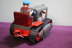 Battery Operated Piston Action Tractor  Made In Japan  in Great Condition