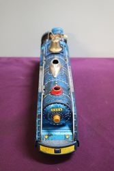 Battery Operated  Vintage Tin Litho Blue Mountain  3964 Train Japan