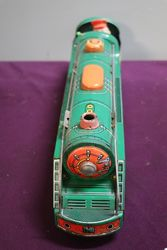 Battery Operated  Vintage Tin Litho Mountain Express  Train 3430