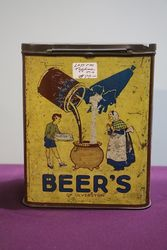Beer's OF Ulverston Toffee Tin