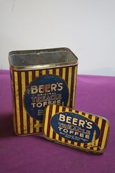 Beerand39s OF Ulverston Toffee Tin