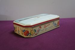 Bensons Pictorial Toffee Tin