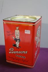 Bensons Royal Buttermints Toffee Tin