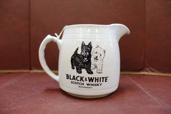 Black And White Scotch Whiskey Pub Jug