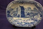 Blue + White Tomb Robbers bowl