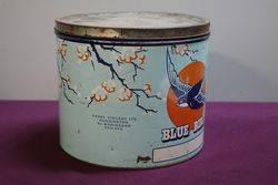 Blue Bird Pictorial Toffee Tin