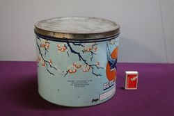 Blue Bird Pictorial Toffee Tin