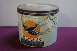 Blue Bird Toffee Tin