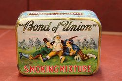 Bond Of Union Smoking Mixture Tobacco Tin