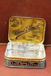 Bond Of Union Smoking Mixture Tobacco Tin