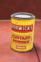 Borwicks Custard Powder Tin