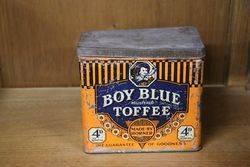 Boy Blue Toffee Tin