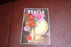 Brasso Advertising Card