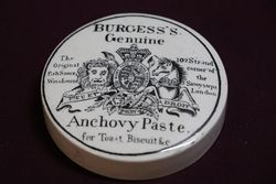 Burgess's Genuine Anchovy Paste