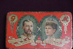 Cadbury Coronation George V  + Mary 1911