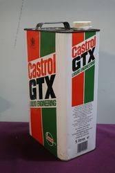 Castrol L GTX 5 Litres Motor Oil Tin