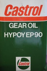 Castrol L Gear Oil Hypoy EP 90 1 Litre Motor Oil Tin