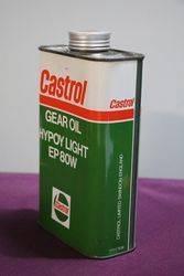 Castrol L Gear Oil Hypoy Light EP 80W 1 Litre Motor Oil Tin