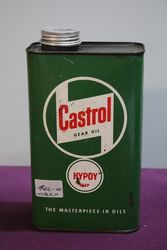 Castrol Z Gear Oil Hypoy 90 EP Quart Motor Oil Tin