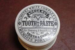 Ceramic Tooth Paste Pot