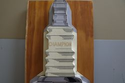 Champion Spark Advertising Sign