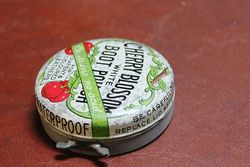 Cherry Blossom Boot Polish Tin