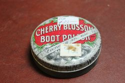 Cherry Blossom Boot Polish Tin