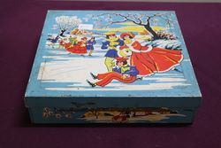Christmas Assorted Pictorial Biscuits Tin