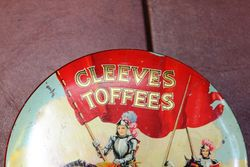 Cleeves Toffee Tin