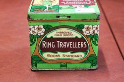 Cooks High Speed Ring Travellers Tin With Contents