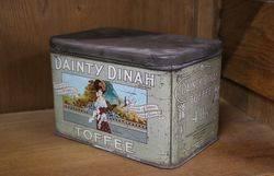 Dainty Dinah Toffee Tin