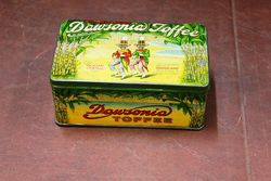 Dawsonia Toffee Pictorial Toffee Tin