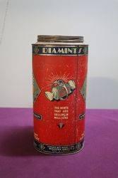Diamints Peppermint Tin in Original Condition