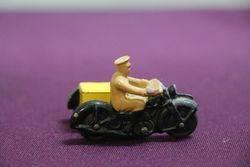 Dinky AA Motorcycle Patrol