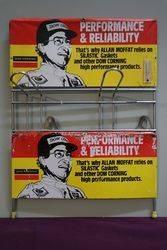 Dow Corning Tin Sign Shop Rack (  Allan Moffat ) #