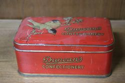 Duncan's Confectionery Tin