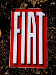 Early Fiat Cars Advertising Enamel Sign