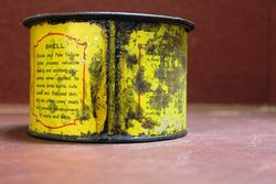 early shell petroleum jelly 1lb tin xxxx antique complex. Black Bedroom Furniture Sets. Home Design Ideas